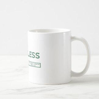 """無意味なマグ- """"承認される"""" Nicholson公有地 コーヒーマグカップ"""