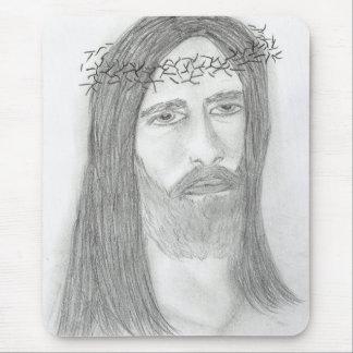 無愛想なイエス・キリスト マウスパッド