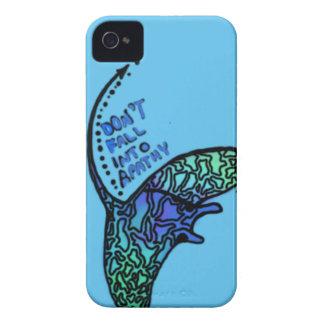 無感動の環境主義者の電話箱に落とさないで下さい Case-Mate iPhone 4 ケース