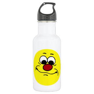 無感情なスマイリーフェイスGrumpey ウォーターボトル