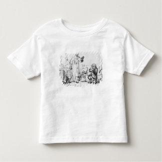 無慈悲な債権者の喩え トドラーTシャツ