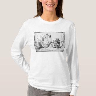 無慈悲な債権者の喩え Tシャツ
