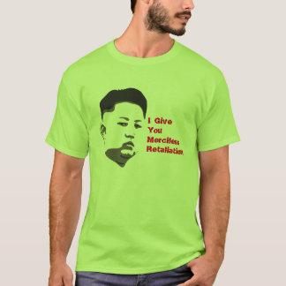 無慈悲な報復 Tシャツ