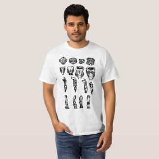無慈悲な部品 Tシャツ