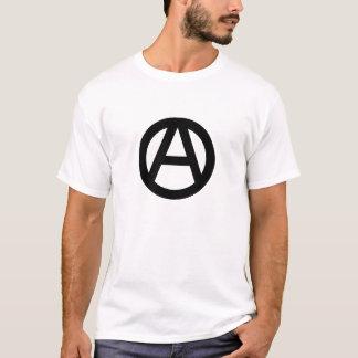 無政府主義者のロゴ Tシャツ