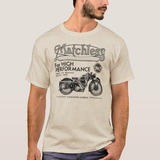 無比のクラシックなオートバイのTシャツ Tシャツ