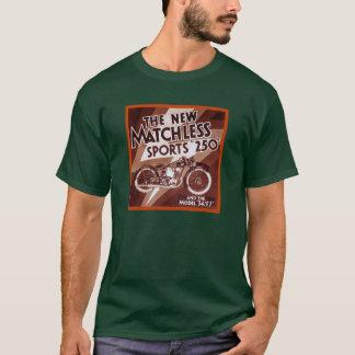 無比の250オートバイ Tシャツ