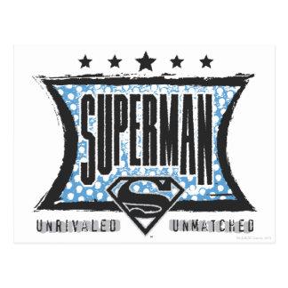 無比スーパーマン無比 ポストカード