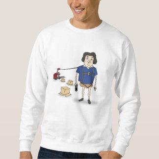 無知なラリーのプルオーバーのスエットシャツ スウェットシャツ