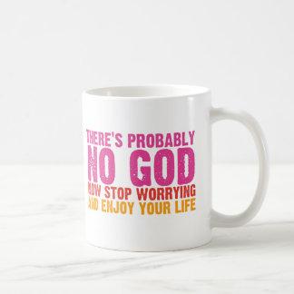 無神論的なバスキャンペーン(縦) コーヒーマグカップ