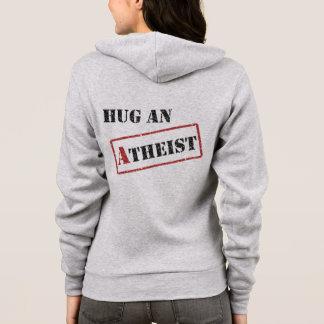 無神論的なフード付きスウェットシャツを抱き締めて下さい パーカ