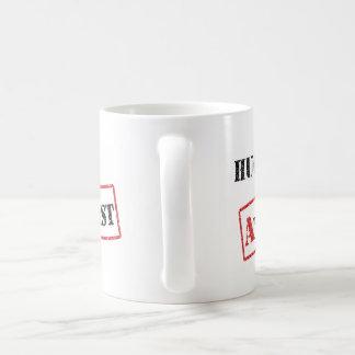 無神論的なマグを抱き締めて下さい コーヒーマグカップ