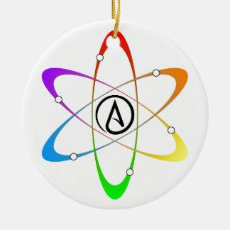 無神論的な原子の記号 セラミックオーナメント