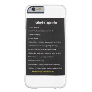 無神論的な議題のiPhone6ケース Barely There iPhone 6 ケース