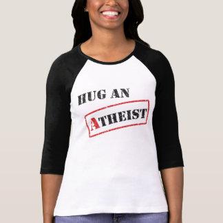 無神論的なTシャツを抱き締めて下さい Tシャツ