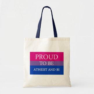 無神論的、Biがあること誇りを持った トートバッグ