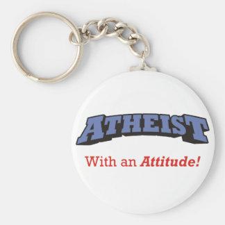 無神論者-態度の…! キーホルダー