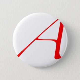 """無神論者""""A""""のロゴ 5.7CM 丸型バッジ"""