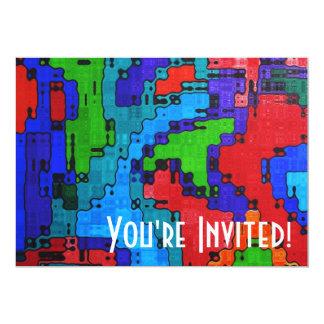 無秩序な頻度-熱狂するなカッコいいの抽象芸術 カード
