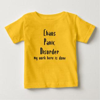 無秩序のパニック障害 ベビーTシャツ
