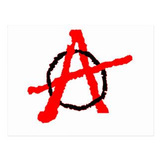 無秩序のロゴ ポストカード