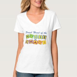 無秩序の家の頭部 Tシャツ