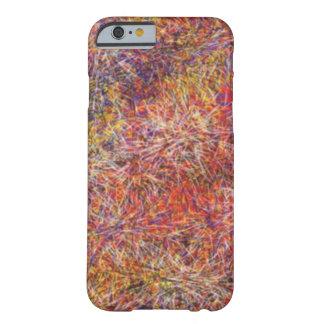 無秩序の抽象的な多彩パターン BARELY THERE iPhone 6 ケース