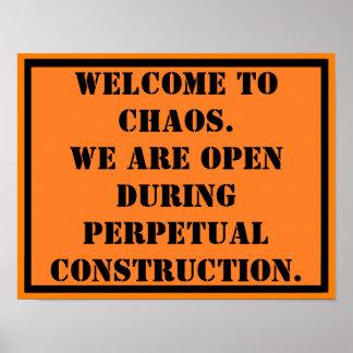 無秩序への歓迎 ポスター