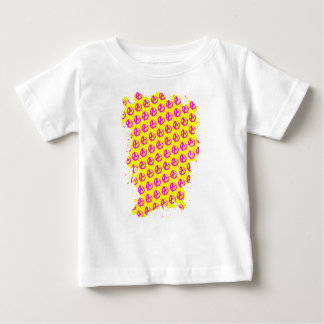 無秩序パターン ベビーTシャツ