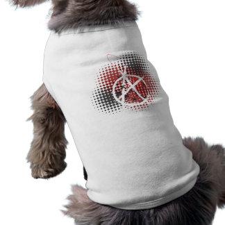 無秩序犬のワイシャツ ペット服