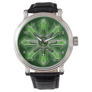 無秩序-緑の矢 腕時計