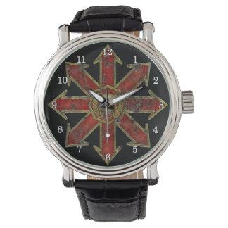 無秩序-赤 腕時計