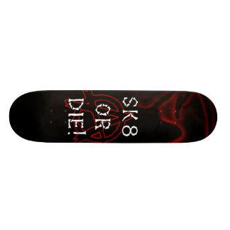 無秩序Sk8はまたは赤外線死にます スケートボードデッキ