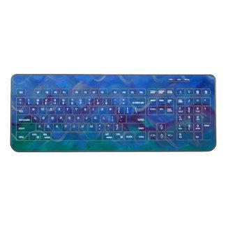無線キーボードの水絵画 ワイヤレスキーボード