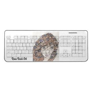 無線キーボードの白 ワイヤレスキーボード