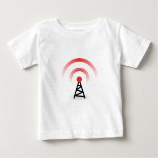 無線ネットワーク ベビーTシャツ