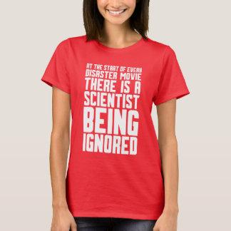 無視されている科学者 Tシャツ