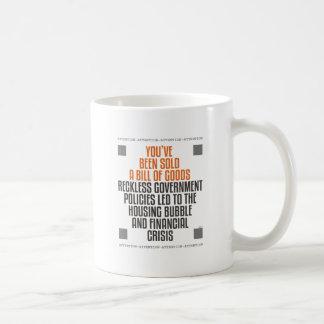 無謀な政府の方針 コーヒーマグカップ