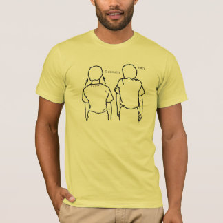 無関心の双生児 Tシャツ