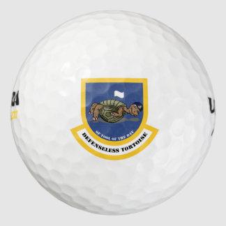 無防備のカメのゴルフ・ボール ゴルフボール