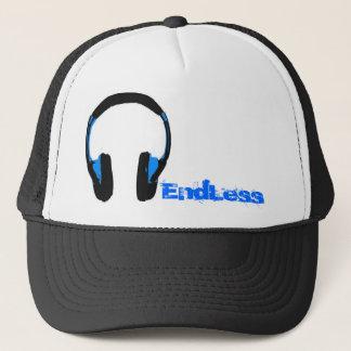 無限のヘッドホーンのトラック運転手の帽子 キャップ