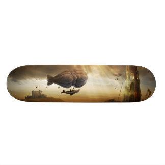 無限の旅行  Steampunkの信じられないい冒険 スケートボード