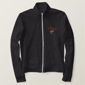 無限の証拠によって刺繍されるジャケット 刺繍入りジャケット