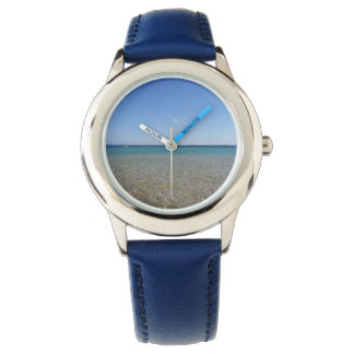 無限の青 腕時計