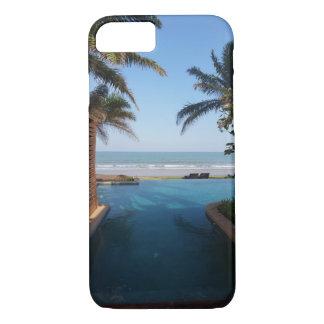 無限プールのビーチのiPhone 7の場合 iPhone 8/7ケース
