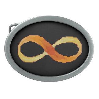 無限ベルトの留め金 卵形バックル