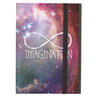 無限ループおよび銀河系の宇宙のヒップスターの背景 iPad AIRケース