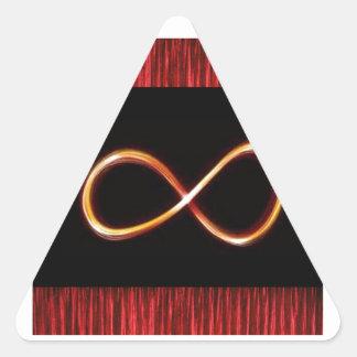 無限ロマンスの精神的な宇宙の宇宙ギフト 三角形シール