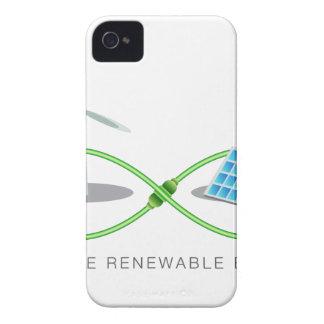 無限再生可能エネルギー Case-Mate iPhone 4 ケース