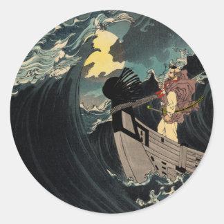 無限夜の衝突水を通して ラウンドシール